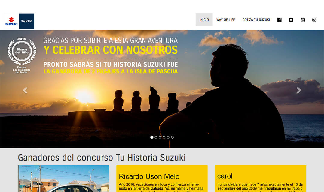 Tu Historia Suzuki